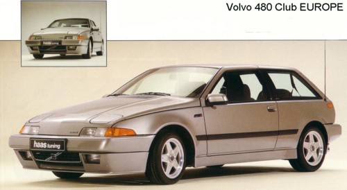 Hausser Rims Volvo 480 Club Europe