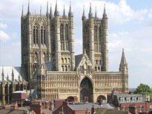 Image of Lincoln Cathedral.